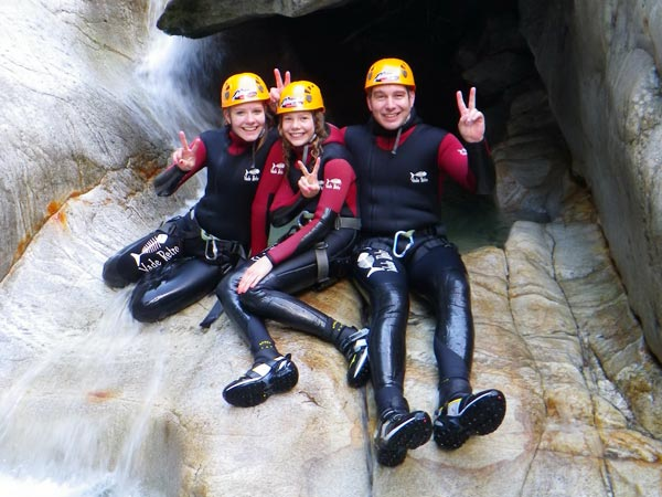 Family Canyoning Playarena Tux